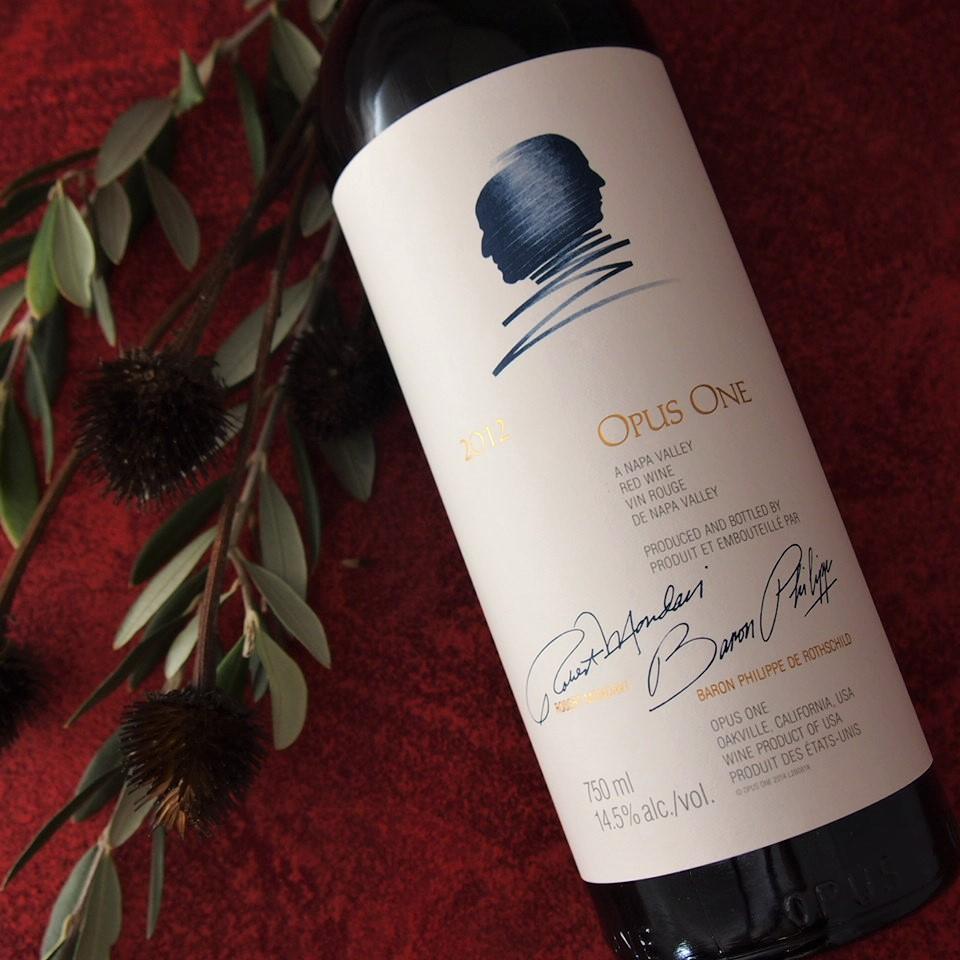 オーパス・ワン Opus One 2012CS・CF