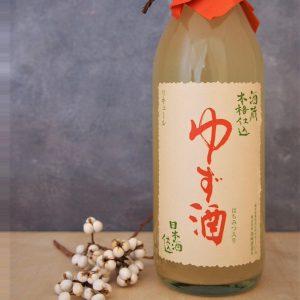 ゆず酒 日本酒仕込み 500ml
