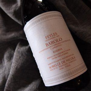 バローロ・リゼルヴァ ソレッレ・デ・ニコラ 2007
