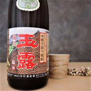 玉露 黒麹 芋 25% 1800ml   NB