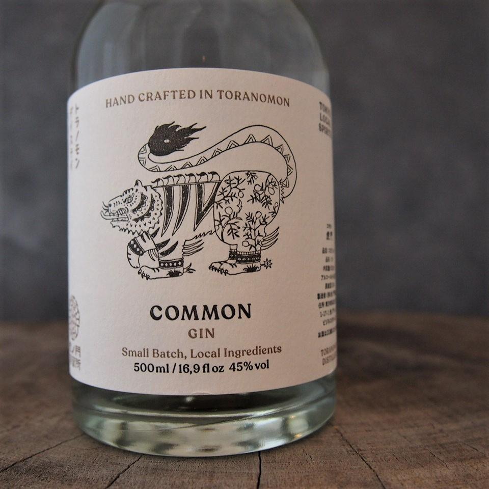COMMON GIN コモン・ジン 45% 500ml